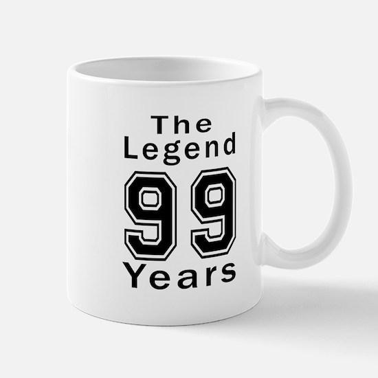 99 Legend Birthday Designs Mug