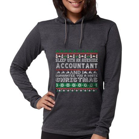 Sleep With Awesome Accountant Long Sleeve T-Shirt