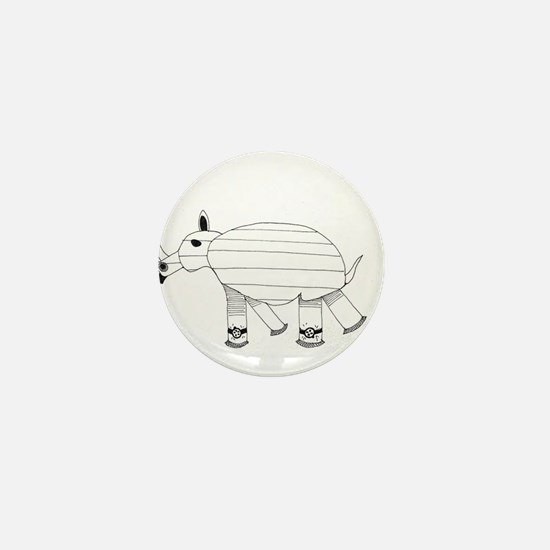 rhino Mini Button (10 pack)