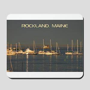Rockland Harbor, Maine Mousepad