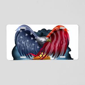 J Rowe Freedom Eagle Aluminum License Plate