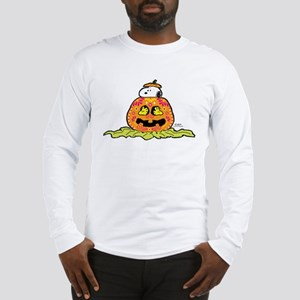 Day of the Dead Snoopy Pumpkin Long Sleeve T-Shirt