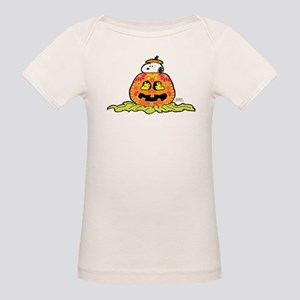 Day of the Dead Snoopy Pumpki Organic Baby T-Shirt