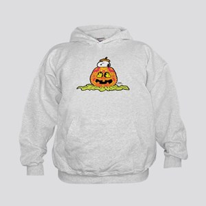 Day of the Dead Snoopy Pumpkin Kids Hoodie