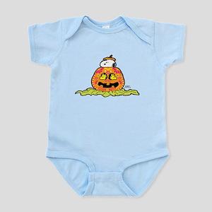 Day of the Dead Snoopy Pumpkin Infant Bodysuit