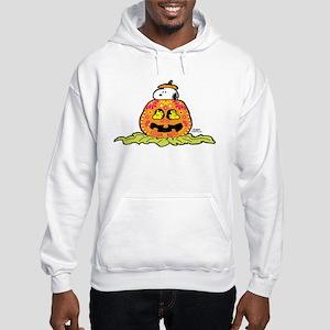 Day of the Dead Snoopy Pumpkin Hooded Sweatshirt