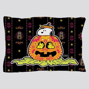 Day of the Dead Snoopy Pumpkin Pillow Case