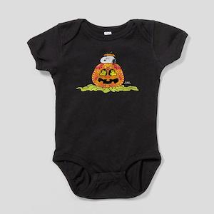 Day of the Dead Snoopy Pumpkin Baby Bodysuit