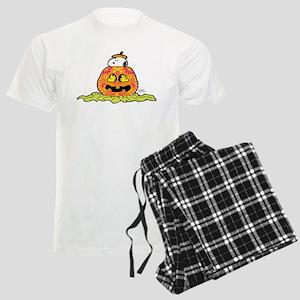 Day of the Dead Snoopy Pumpki Men's Light Pajamas