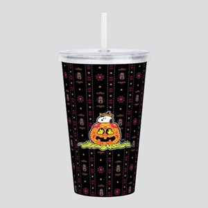 Day of the Dead Snoopy Acrylic Double-wall Tumbler