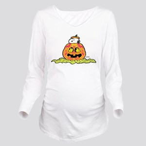 Day of the Dead Snoo Long Sleeve Maternity T-Shirt