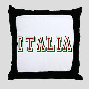 Italia Logo Throw Pillow