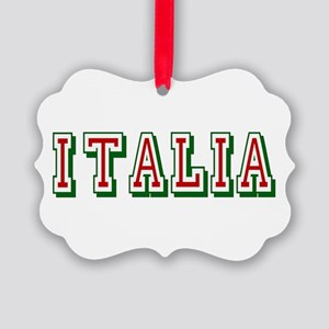 Italia Logo Ornament