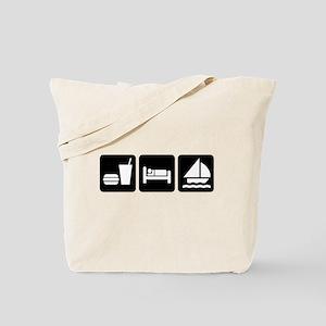 Eat, Sleep, Sailing Tote Bag