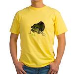 Cicada hi. Yellow T-Shirt