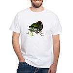 Cicada hi. White T-Shirt