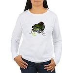 Cicada hi. Women's Long Sleeve T-Shirt