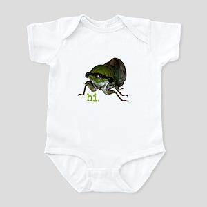 Cicada hi. Infant Bodysuit