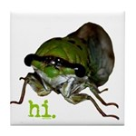 Cicada hi. Tile Coaster