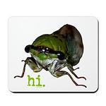 Cicada hi. Mousepad