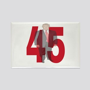 TRUMP 45th PRESIDENT Magnets