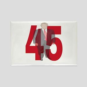 TRUMP 45th PRESIDENT Magnets