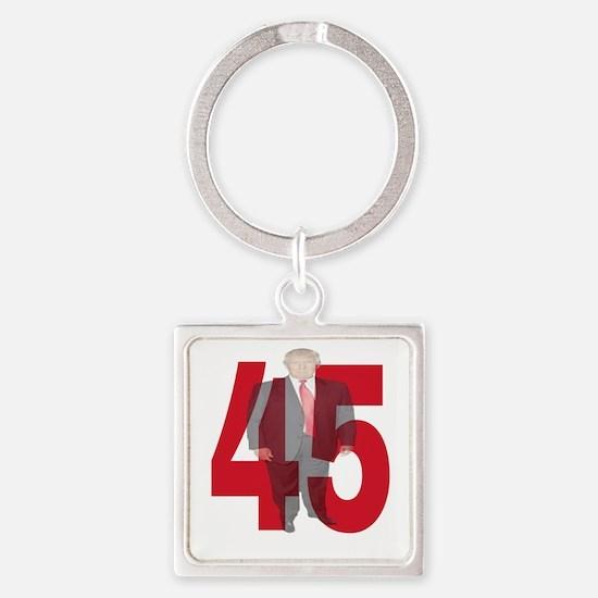 TRUMP 45th PRESIDENT Keychains