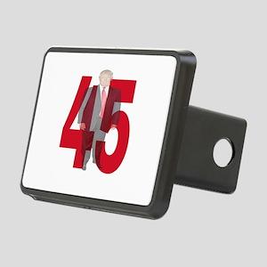 TRUMP 45th PRESIDENT Rectangular Hitch Cover