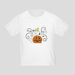Peanuts Snoopy Sketch Pumpkin Toddler T-Shirt