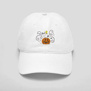 Peanuts Snoopy Sketch Pumpkin Cap