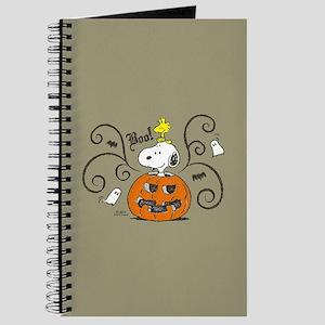 Peanuts Snoopy Sketch Pumpkin Journal