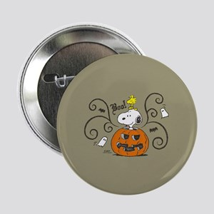 "Peanuts Snoopy Sketch Pumpkin 2.25"" Button"
