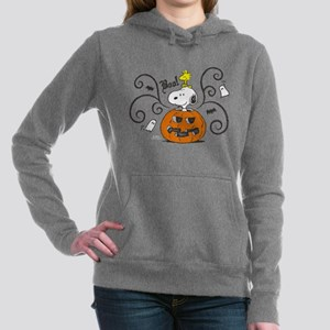 Peanuts Snoopy Sketch Pu Women's Hooded Sweatshirt