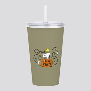 Peanuts Snoopy Sketch Acrylic Double-wall Tumbler