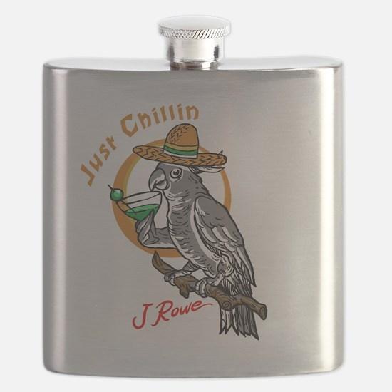 J Rowe Just Chillin Cockatoo Flask