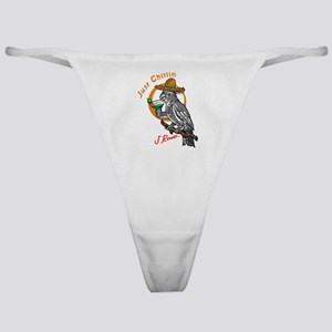 J Rowe Just Chillin Cockatoo Classic Thong