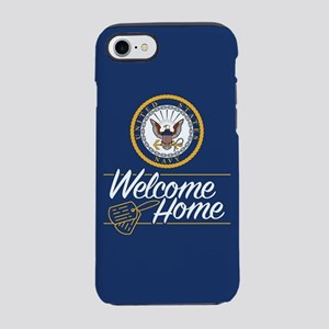 U.S. Navy Welcome Home iPhone 8/7 Tough Case