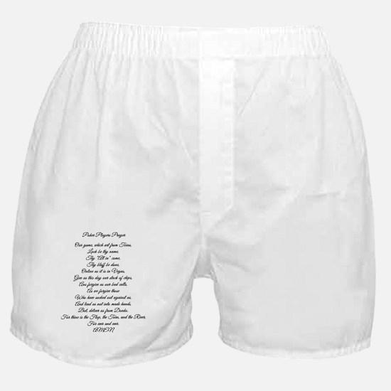 Cute Poker player Boxer Shorts