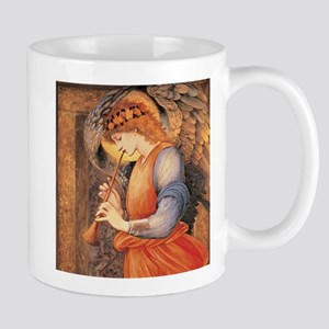 An Angel Playing a Flageolet Mugs