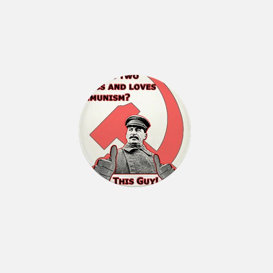 Stalin Likes Mini Button