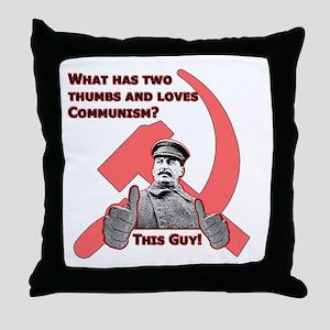 Stalin Likes Throw Pillow