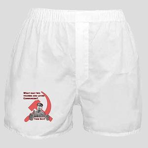 Stalin Likes Boxer Shorts