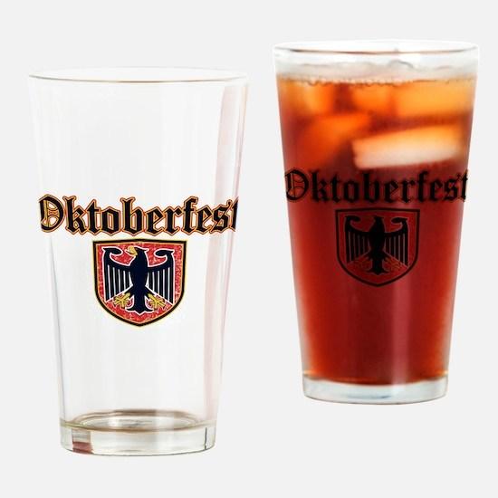 Oktoberfest Shield Drinking Glass