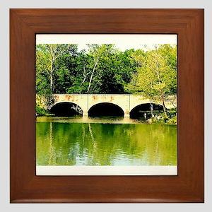 Reflected Images. Framed Tile