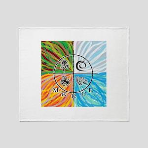 Full Color Logo Throw Blanket