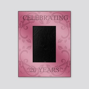 20th Wedding Anniversary Picture Frame