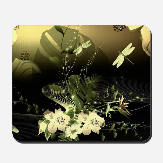 Wonderful flowers Mousepad