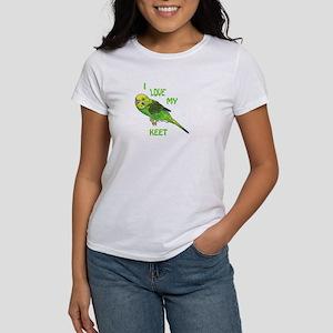 Green Keet Women's T-Shirt