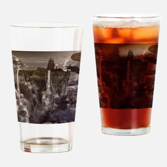 Unique Fantasy and scifi Drinking Glass