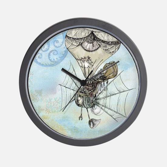 Cute Fantasy and scifi Wall Clock